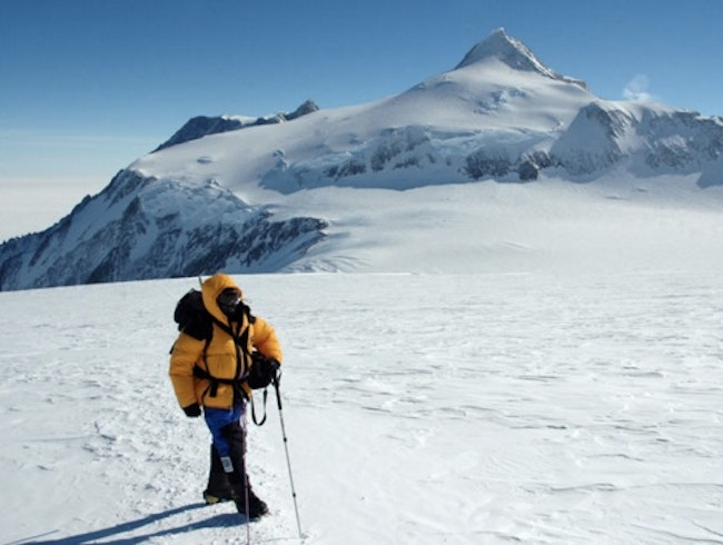 Summiting Antarctica's Highest Mountain