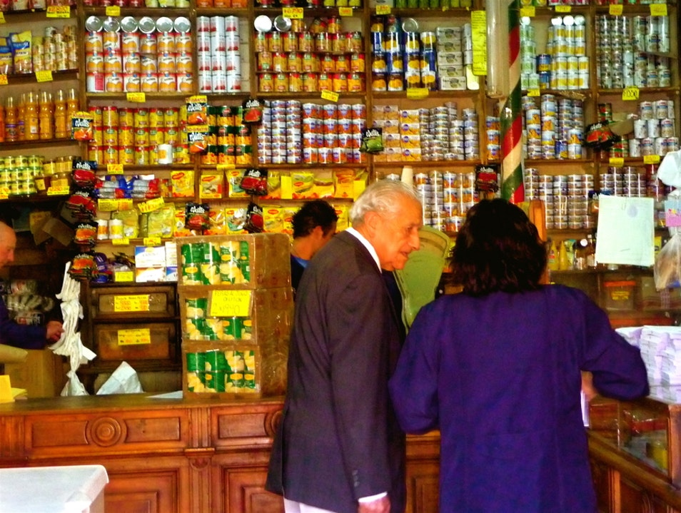 A neighborhood grocery right out of the early 1900s Valparaiso  Chile