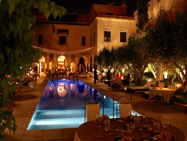 A STUNNING AND LUXURIOUS RIAD HOTEL IN MARRAKESH