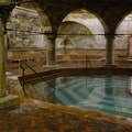 Rudas Thermal Baths Budapest  Hungary