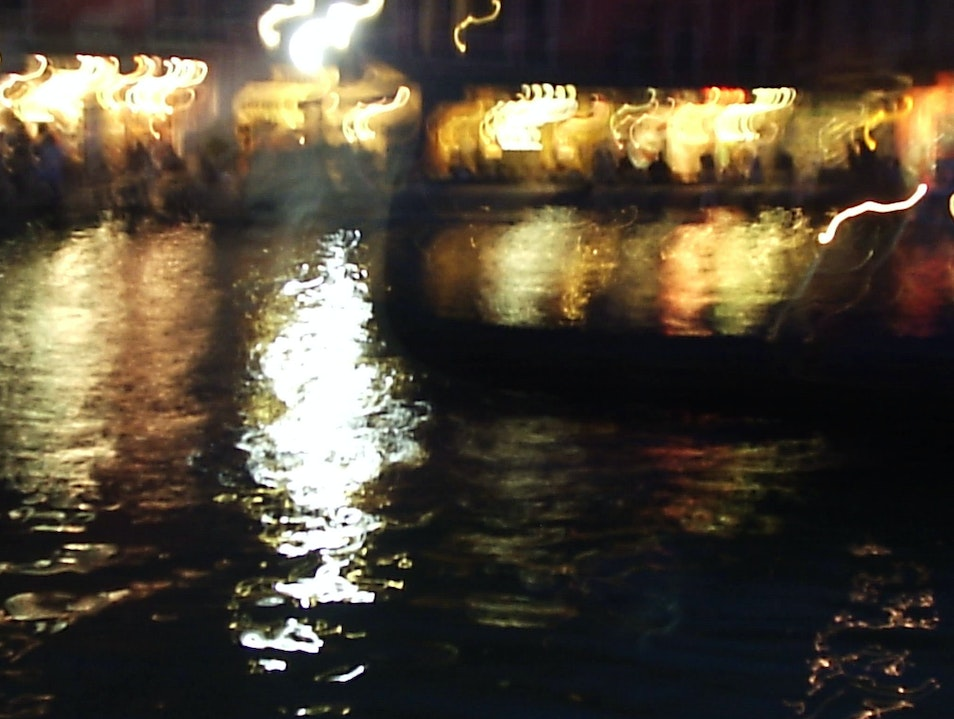 An Evening at the Rialto Venice  Italy