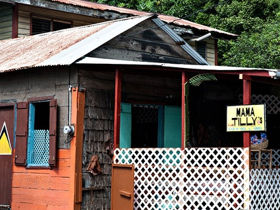 Mama Tilly's Barbeque and Grill Laborie  Saint Lucia