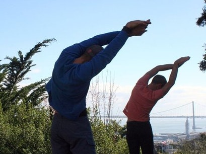 Hiking Yoga San Francisco California United States