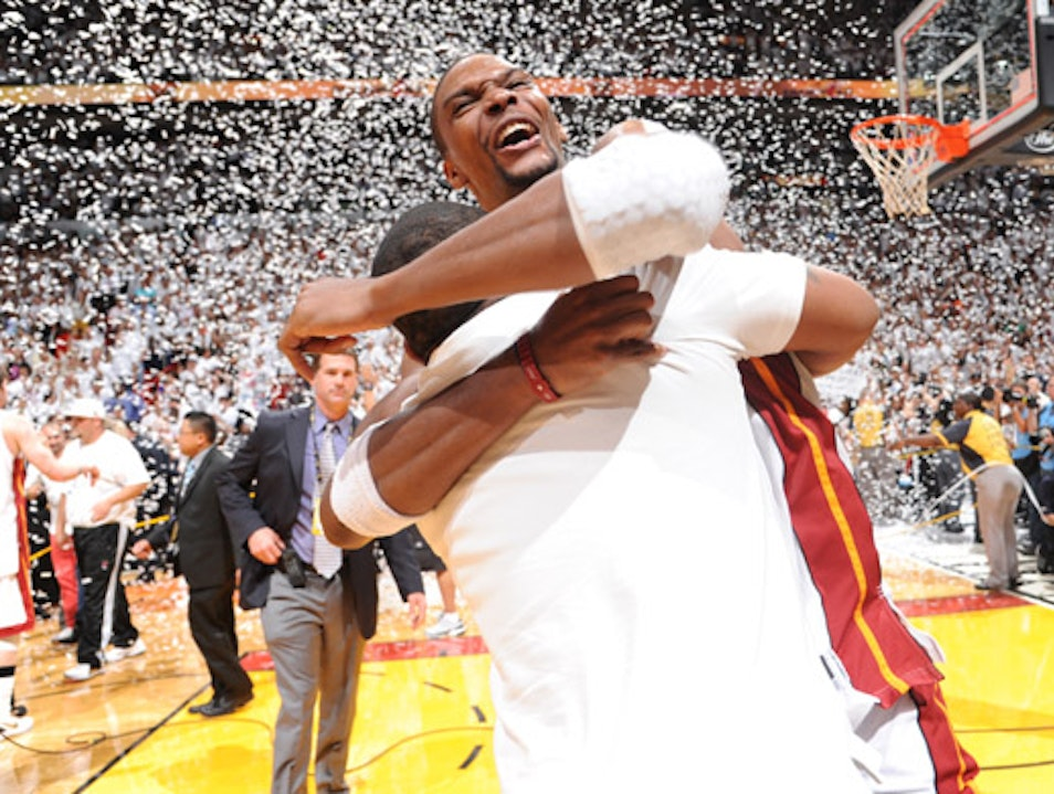 NBA Champs & More at the American Airlines Arena