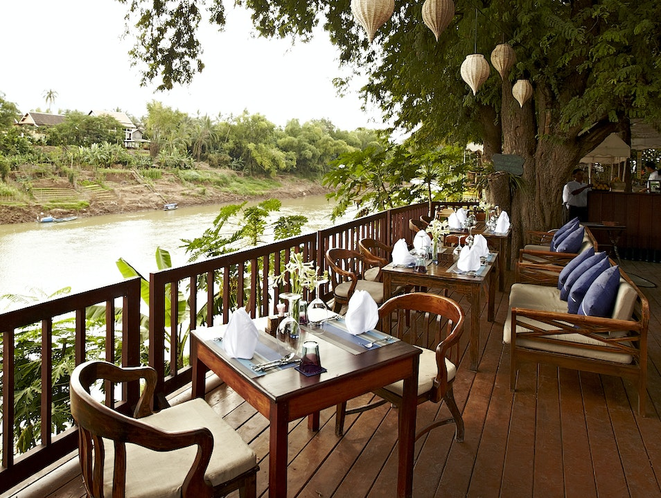 Enchanting Riverside Dining at The Terrace Luang Prabang  Laos