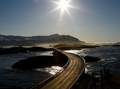 The Atlantic Road Eide  Norway