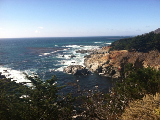 Cliffside Views Along The PCH