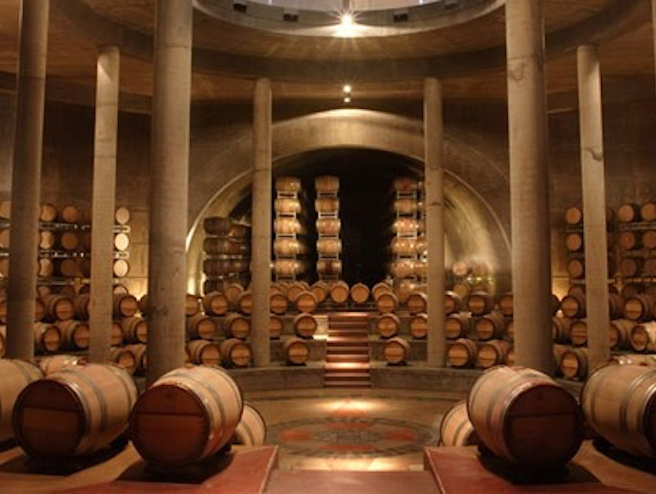 Wine with Stunning Architecture Los Arboles  Argentina