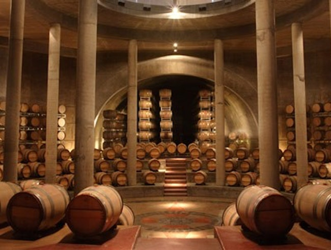 Wine with Stunning Architecture