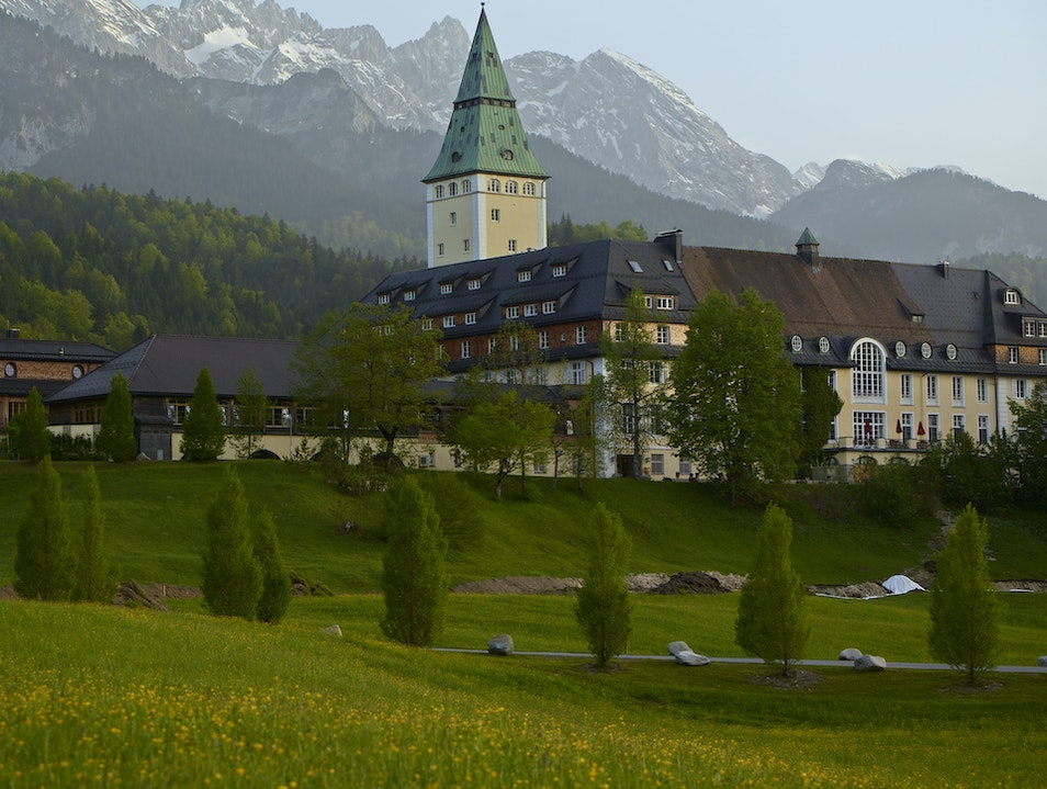 Schloss Elmau: The Hills are Alive with the Sound of Pianos Krün  Germany