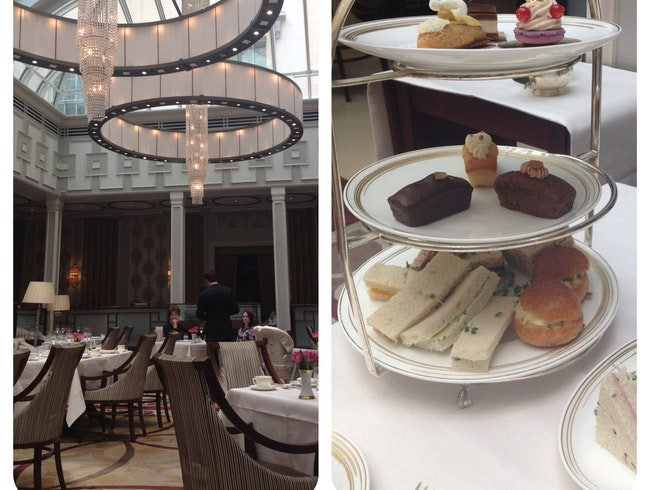 Afternoon Tea at Lanesborough in London
