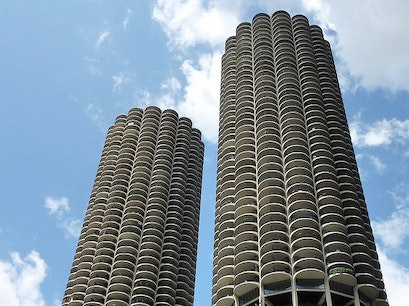 Marina Towers  Chicago Illinois United States