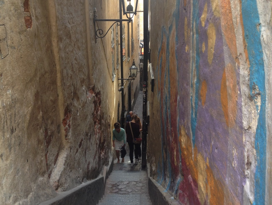 Gamla Stan- the Old Town of Stockholm
