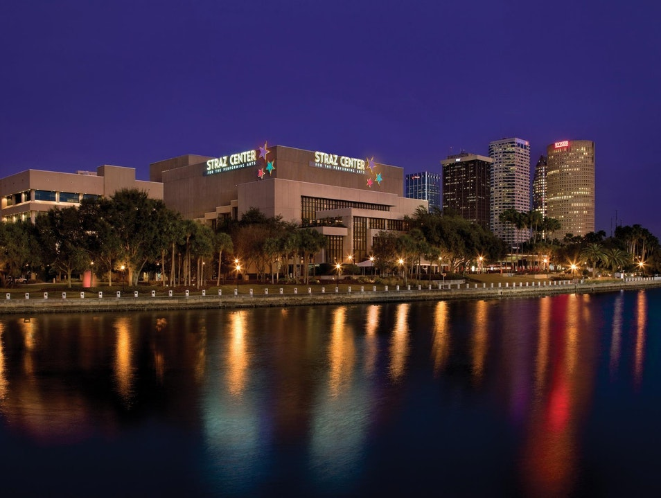 Five Theaters, Three Restaurants—A Jewel of a Performing Arts Center Tampa Florida United States