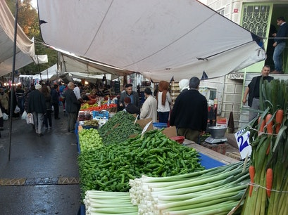 Fatih's Wednesday Market Istanbul  Turkey