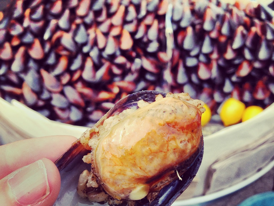 Steamed & Stuffed Mussels in Istanbul  Istanbul  Turkey