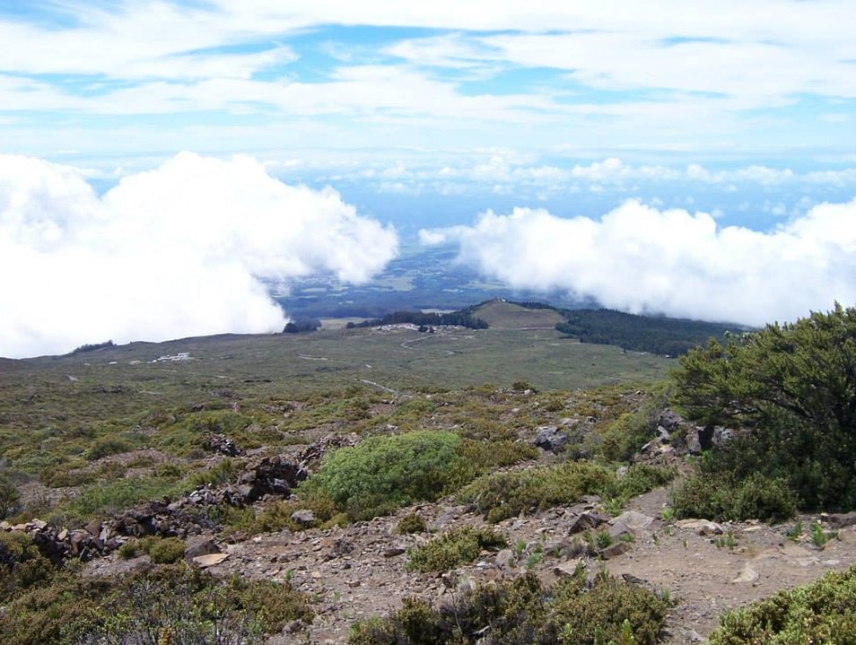 Ascending and Summiting a Volcano
