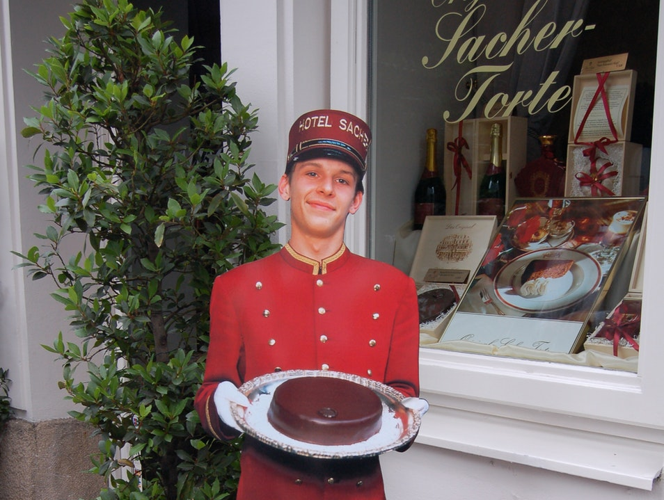 may I offer you some sacher torte?