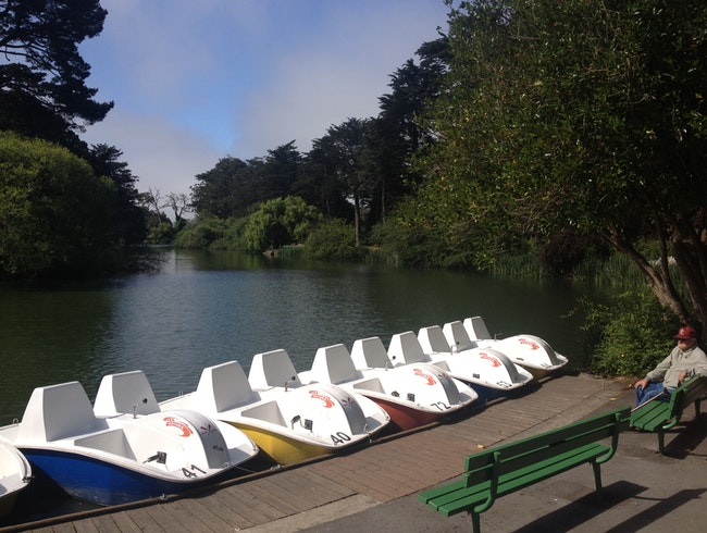 Paddle About Stow Lake in Golden Gate Park