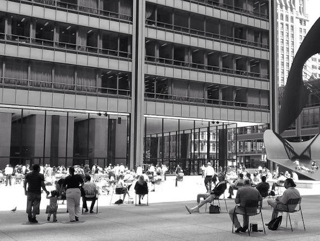 Chicago at Lunchtime