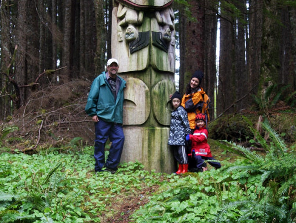 Among the Totems in Kasaan, Alaska Thorne Bay Alaska United States
