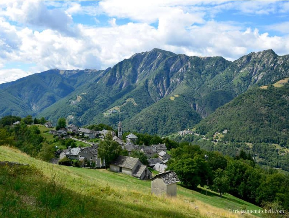 Explore a Swiss-Italian Town, Accessible Only by Cable Car Rasa  Switzerland
