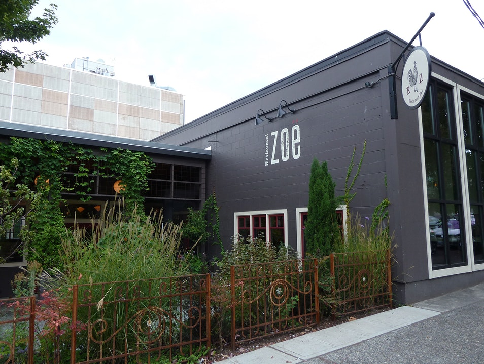 Eat (and Drink) Local with Restaurant Zoe Seattle Washington United States