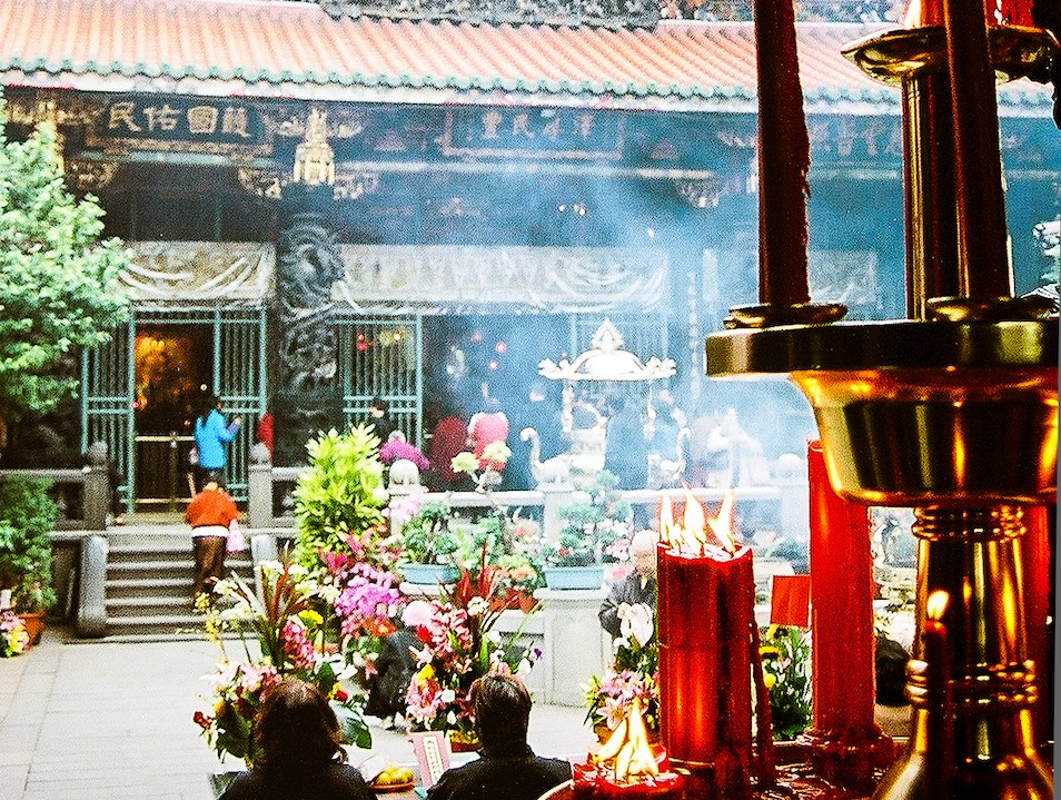 Spirituality in the City Wanhua District  Taiwan