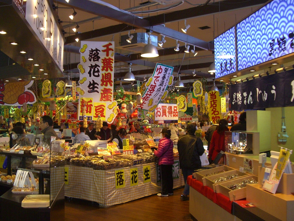 Come for the Sushi, Shop for the Peanuts Futtsu  Japan