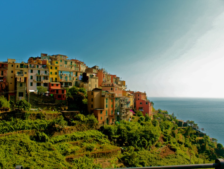 Scale a Cliff to the Sea Corniglia  Italy
