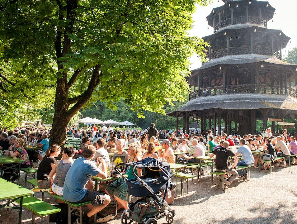 Munich's Best Beer Garden Munich  Germany