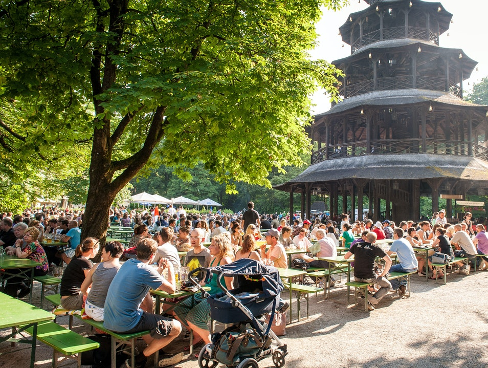 Munich's Best Beer Garden