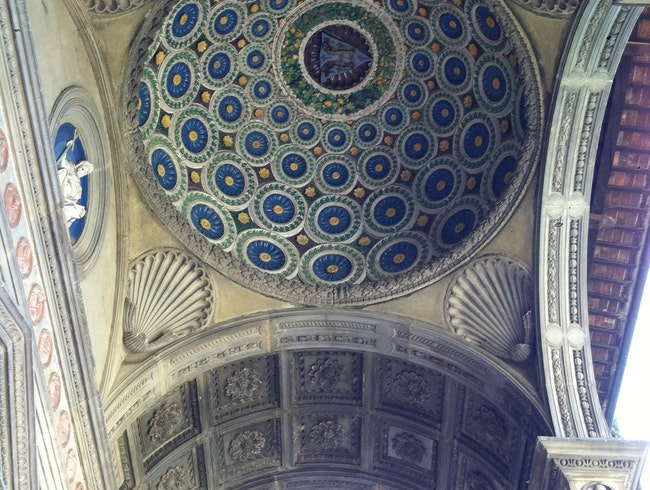 Ethereal ceilings inside Santa Croce