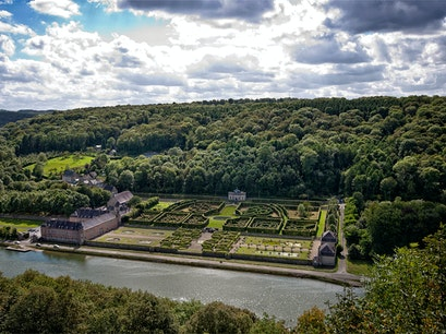 Castle and Gardens of Freÿr sur Meuse Hastiere  Belgium