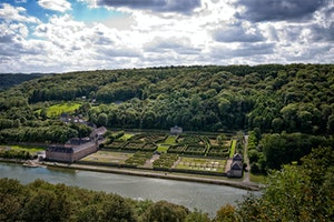Castle and Gardens of Freÿr sur Meuse