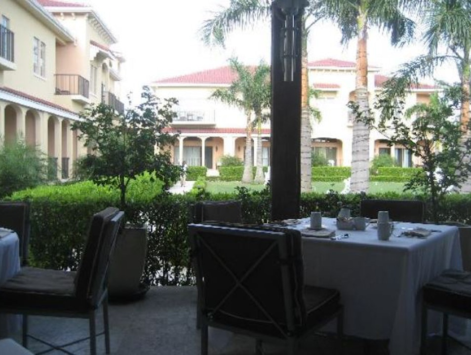 Lunch at Pavilion inside the Somerset The Bight Settlement  Turks and Caicos Islands
