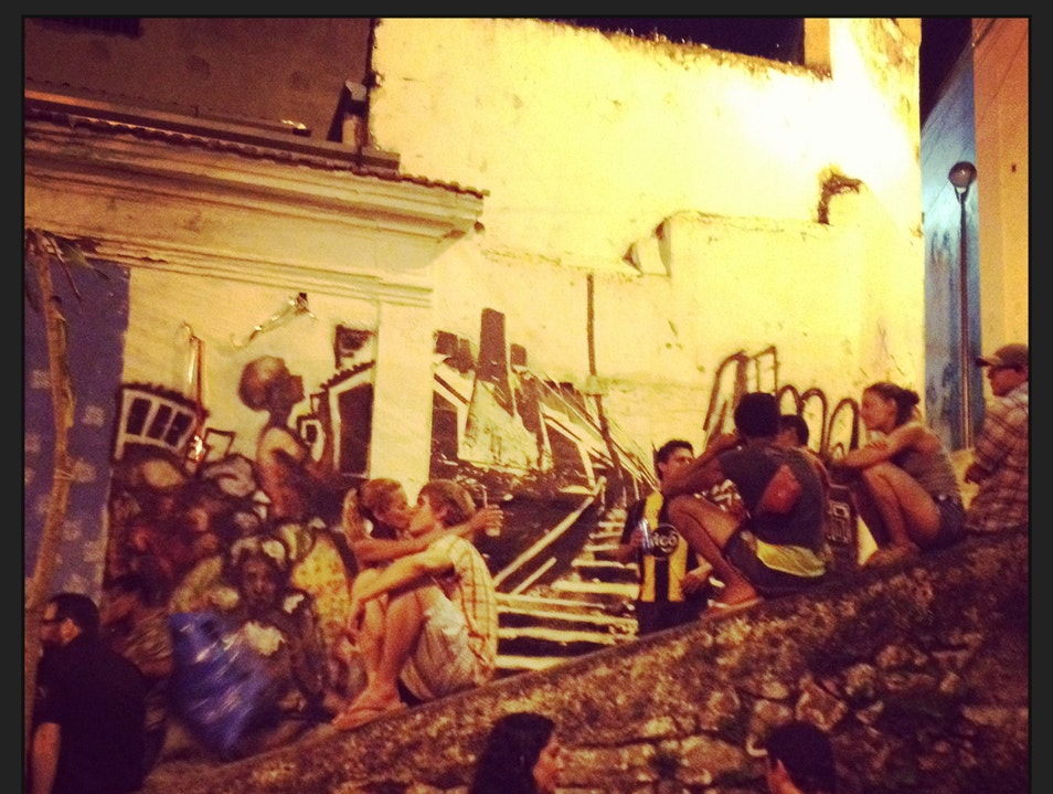 Experience a Vibrant Samba Party at Pedra do Sal, Monday Nights in Rio Rio De Janeiro  Brazil