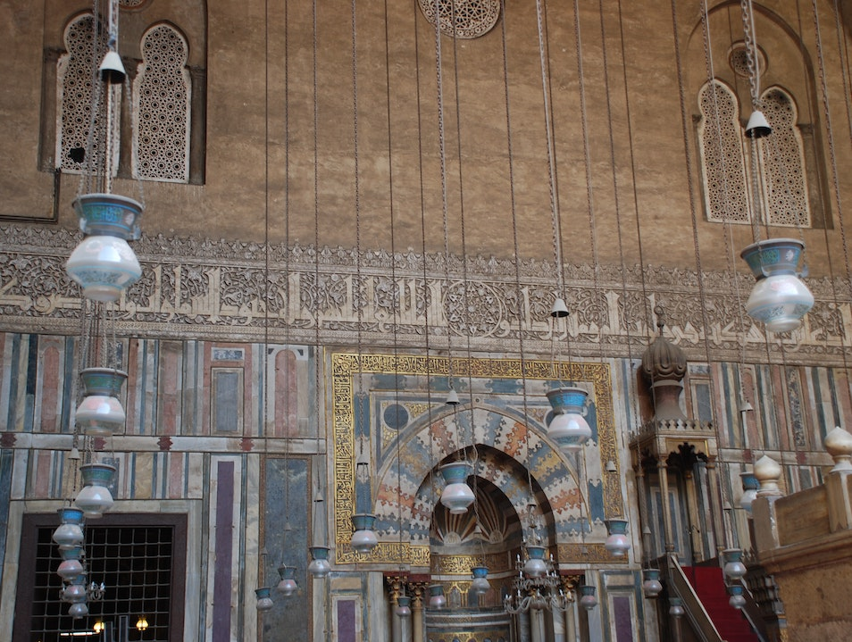 Sultan Hassan Mosque Cairo  Egypt