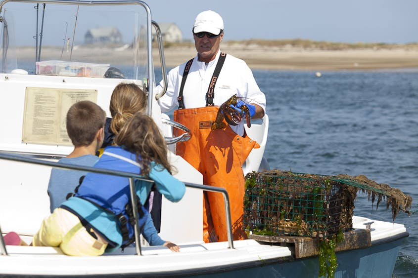 Fishing trips are more exciting in Cape Cod.