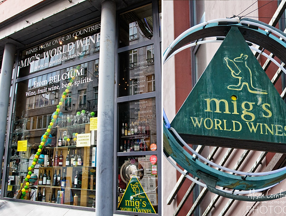 A World of Wines to Discover in Brussels Saint Gilles  Belgium