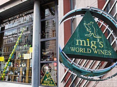 Migs World Wines Saint Gilles  Belgium