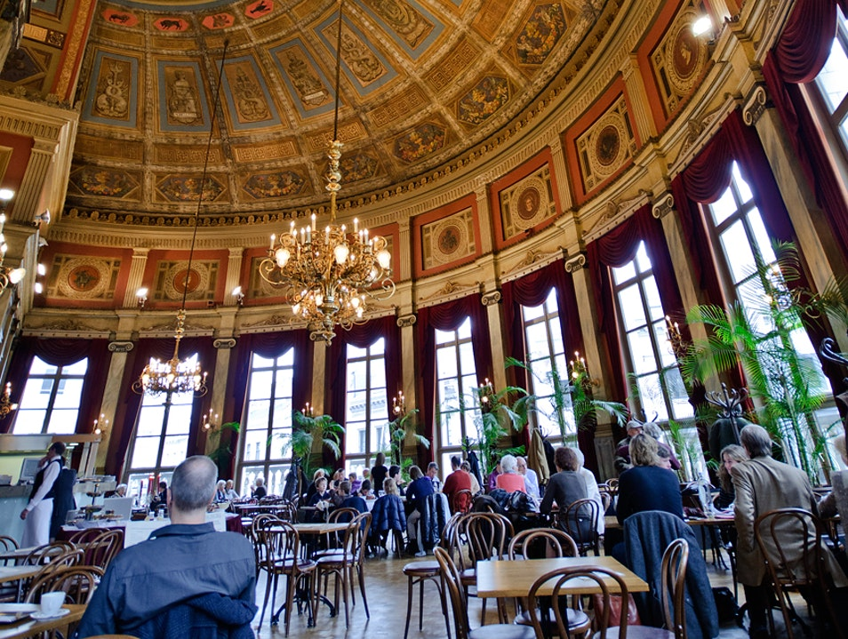 Antwerp's Gorgeous Theater Cafe Antwerp  Belgium