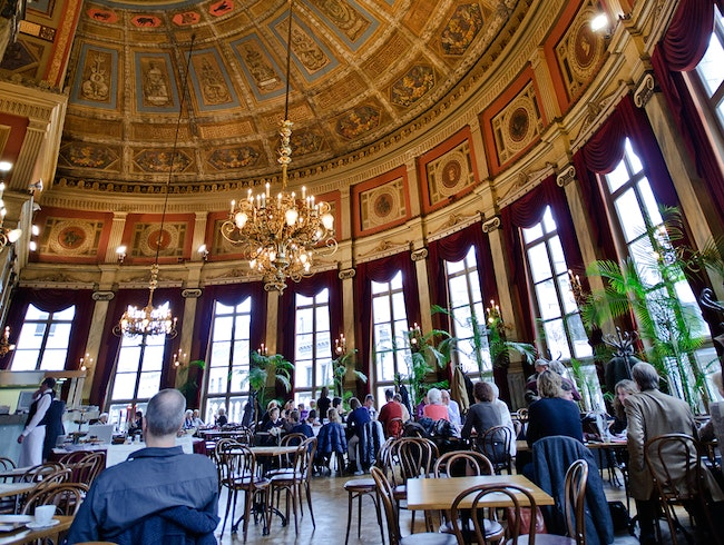 Antwerp's Gorgeous Theater Cafe