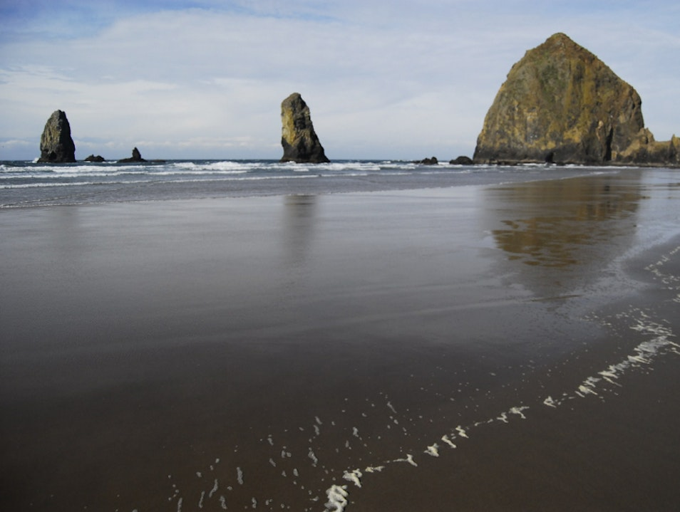 Haystack Rocks Cannon Beach Oregon United States