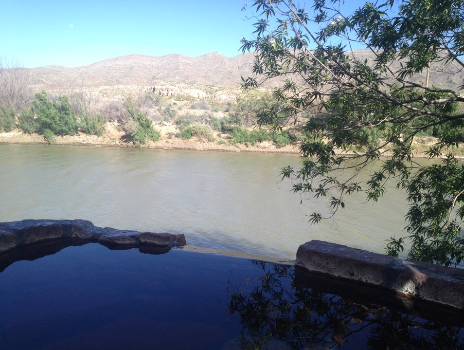 Soak in Mineral Springs with Views of the Rio Grande Truth Or Consequences New Mexico United States