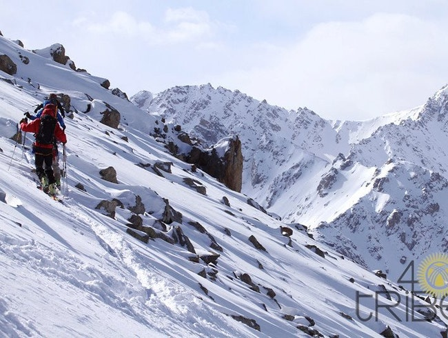 Venture through Tien Shan Mountains in Kyrgyzstan