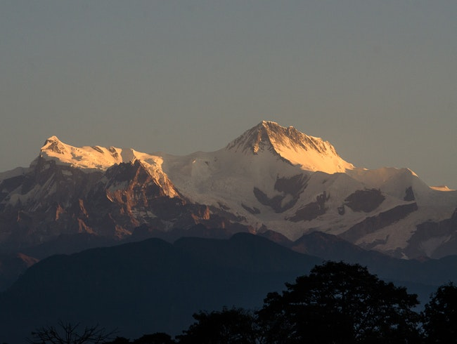 The Annapurnas at Sunrise