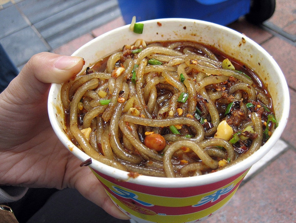 Chongqing Hot and Sour Sweet Potato Noodles Chongqing  China