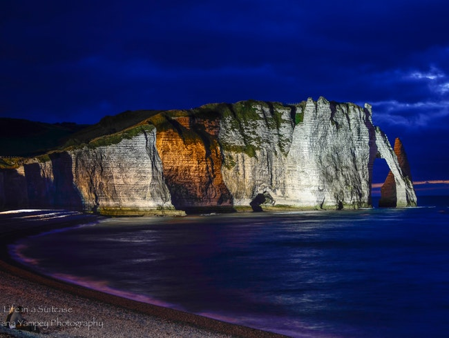 Evening in Etretat