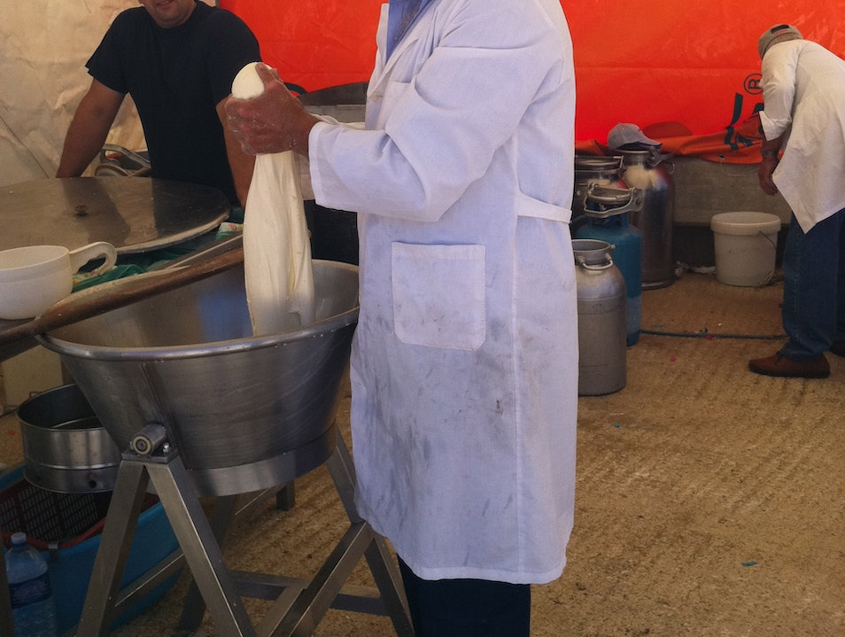 The Art of Making Cheese Molise  Italy